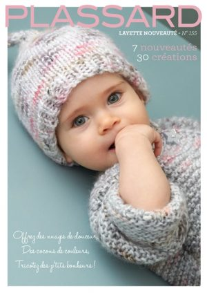 catalogue tricot plassard layette n°155